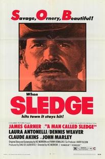 Sledge, O Homem Marcado - Poster / Capa / Cartaz - Oficial 1