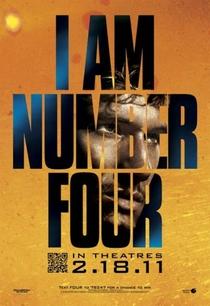 Eu Sou O Número Quatro - Poster / Capa / Cartaz - Oficial 5