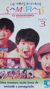 Os Três Pequenos Samurais - Parte 3: O Sequestro - Poster / Capa / Cartaz - Oficial 1
