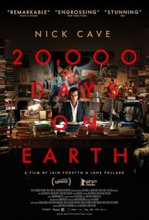 Nick Cave - 20.000 dias na Terra - Poster / Capa / Cartaz - Oficial 2