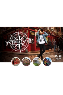 It's Time2 Travel - Poster / Capa / Cartaz - Oficial 1