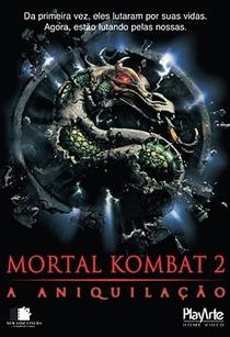 Mortal Kombat 2: A Aniquilação - Poster / Capa / Cartaz - Oficial 1