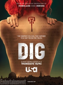 Dig (1ª Temporada) - Poster / Capa / Cartaz - Oficial 1