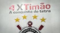 4x Timão: A Conquista do Tetra - Poster / Capa / Cartaz - Oficial 2