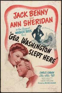 George Washington dormiu aqui - Poster / Capa / Cartaz - Oficial 1