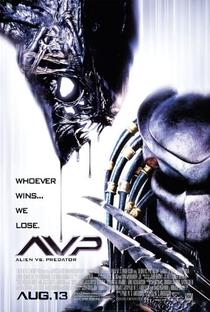 Alien vs. Predador - Poster / Capa / Cartaz - Oficial 2