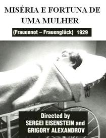 Miséria e Fortuna de Uma Mulher - Poster / Capa / Cartaz - Oficial 1