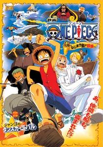 One Piece 2 - Aventura na Ilha Nejimaki - Poster / Capa / Cartaz - Oficial 1