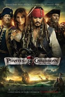 Piratas do Caribe: Navegando em Águas Misteriosas - Poster / Capa / Cartaz - Oficial 1
