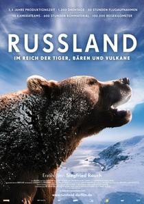 Rússia - No Reino de Tigres, Ursos e Vulções - Poster / Capa / Cartaz - Oficial 1