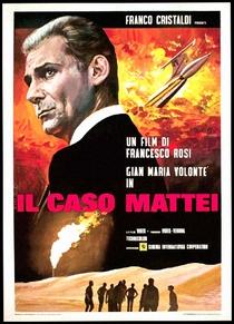 O Caso Mattei - Poster / Capa / Cartaz - Oficial 1