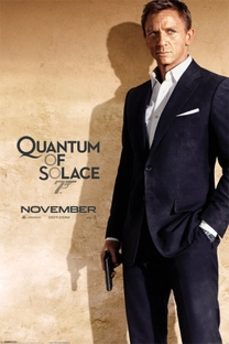 007 - Quantum of Solace - Poster / Capa / Cartaz - Oficial 5