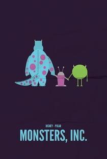 Monstros S.A. - Poster / Capa / Cartaz - Oficial 2