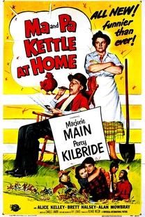 Ma e Pa Kettle em Casa - Poster / Capa / Cartaz - Oficial 1