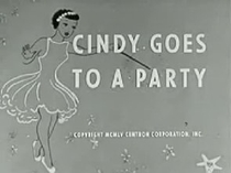 Cindy Goes to a Party - Poster / Capa / Cartaz - Oficial 1