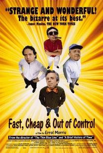 Rápido, Barato & Fora de Controle - Poster / Capa / Cartaz - Oficial 1