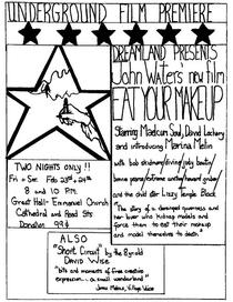 Eat Your Makeup - Poster / Capa / Cartaz - Oficial 1