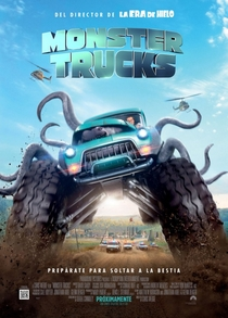 Monster Trucks - Poster / Capa / Cartaz - Oficial 2