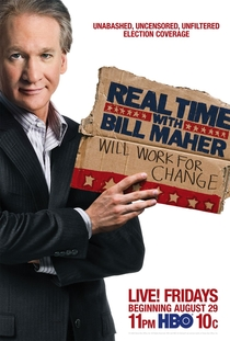 Real Time with Bill Maher - Poster / Capa / Cartaz - Oficial 1