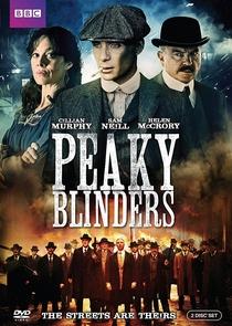 Peaky Blinders (1ª Temporada) - Poster / Capa / Cartaz - Oficial 2