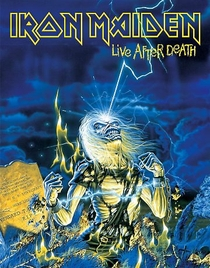 Iron Maiden Live After Death - Poster / Capa / Cartaz - Oficial 1