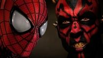 Homem-aranha vs Darth Maul - Poster / Capa / Cartaz - Oficial 1