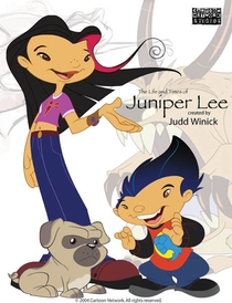 A Vida e Aventuras de Juniper Lee - Poster / Capa / Cartaz - Oficial 3