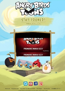 Angry Birds Toons - Poster / Capa / Cartaz - Oficial 3