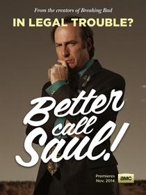 Better Call Saul (1ª Temporada) - Poster / Capa / Cartaz - Oficial 5
