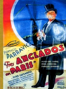 Três Ilhados em Paris - Poster / Capa / Cartaz - Oficial 1