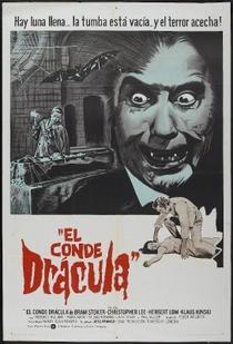 Conde Drácula - Poster / Capa / Cartaz - Oficial 4