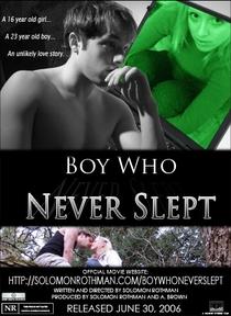 Boy Who Never Slept - Poster / Capa / Cartaz - Oficial 1