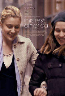 Mistress America - Poster / Capa / Cartaz - Oficial 1