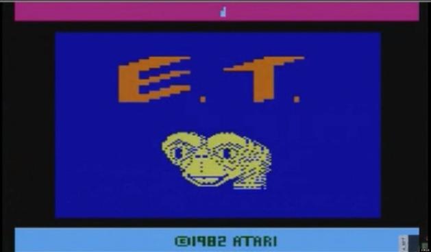 FILMES E GAMES - E tudo sobre a cultura POP | E.T. The Extra-Terrestrial - Atari (Botão Solitário)