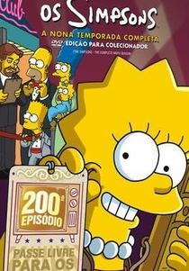 Os Simpsons (9ª Temporada) - Poster / Capa / Cartaz - Oficial 1