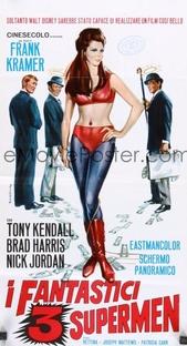 Os 3 Fantásticos Super Homens - Poster / Capa / Cartaz - Oficial 2