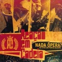 Reação em Cadeia - Nada Ópera: Ao Vivo - Poster / Capa / Cartaz - Oficial 1