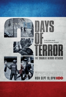 3 Days of Terror: The Charlie Hebdo Attacks - Poster / Capa / Cartaz - Oficial 1