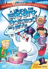 A Lenda de Frosty o Boneco de Neve - Poster / Capa / Cartaz - Oficial 1
