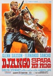 Django Atira Primeiro - Poster / Capa / Cartaz - Oficial 3