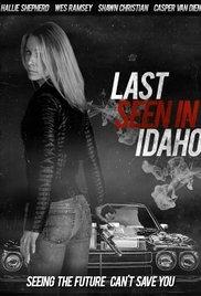 Last Seen in Idaho - Poster / Capa / Cartaz - Oficial 1