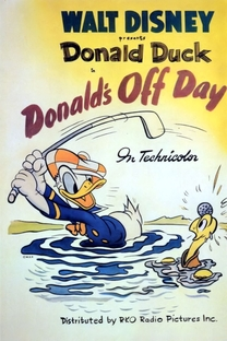 Donald's Off Day - Poster / Capa / Cartaz - Oficial 1