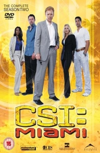 CSI: Miami (2ª Temporada) - Poster / Capa / Cartaz - Oficial 1