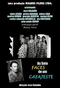 As sete faces de um cafajeste - Poster / Capa / Cartaz - Oficial 1