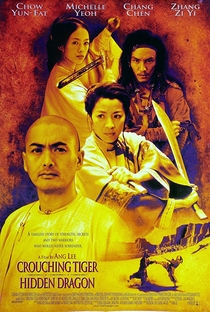 O Tigre e o Dragão - Poster / Capa / Cartaz - Oficial 4