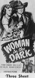 Woman in the Dark - Poster / Capa / Cartaz - Oficial 3
