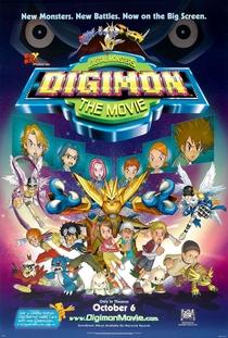 Digimon: O Filme - Poster / Capa / Cartaz - Oficial 1