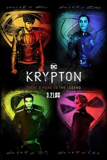 Krypton (1ª Temporada) - Poster / Capa / Cartaz - Oficial 2