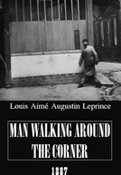 Man Walking Around the Corner