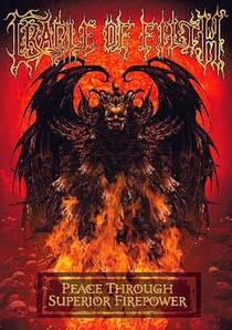 Cradle Of Filth - Peace Through Superior Firepower - Poster / Capa / Cartaz - Oficial 1